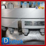 """Didtek refinería de petróleo de 12"""" de los extremos de la brida de acero al carbono de la válvula de retención de giro"""