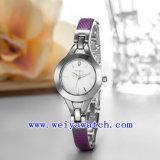 Projetar o relógio de senhoras luxuoso da liga do relógio (WY-041B)