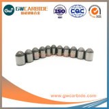 Boutons de carbure de tungstène solide d'exploitation minière