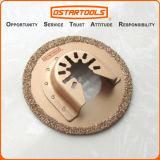 carbure de 64mm (2-1/2 le '') oscillant Multitool circulaire à affleurement coupé scie la lame