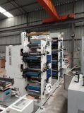 Machine de fente de découpage de six couleurs de roulis auto-adhésif de papier pour étiquettes
