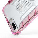 Горячее популярное кристаллический прозрачное ясное iPhone аргументы за телефона раковины мобильного телефона цвета градиента 7 8