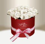 호화스러운 인쇄 선물 둥근 포장 주문 꽃 종이상자