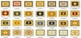 Azulejos de la alfombra con Gold con el precio barato (BDJ60054A-2)