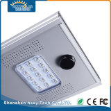 IP65 15W LED de la carcasa de aluminio calle la luz solar
