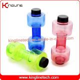 Fornitore personalizzato della bottiglia di Dumbbell di colore 550ml (KL-7130)