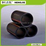 Tubulação de esgoto subterrânea do HDPE flexível