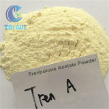 Acetato di Trenbolone degli steroidi di colore giallo di sviluppo del muscolo per il maschio