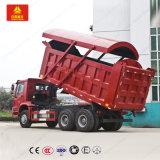 Sinotruk HOWO 6X4の頑丈なトラック25tonのダンプトラック