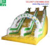 Diapositiva inflable con el ventilador precio barato (DJWSMD800007)
