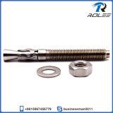 Boulon d'anchrage de cale de l'acier inoxydable 304