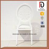 現代アルミニウム絵画金属フレームの宴会白い党椅子