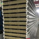 De groene Comités van de Sandwich van de Muur Rockwool van de Kleur 100kg/M3