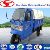 Закрытые/многофункциональные относящие к окружающей среде санобработка/перевозка/нагрузка/носят для трейлера Carbage Уилера 500kg -3tons 3