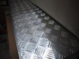 5-staaf de Plaat van het Dek van het Aluminium (6061 5mm Dikke 6061-T6)