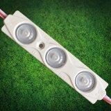 Publicidad exterior resistente al agua del canal de acrílico LED Carta con 3 módulo LED SMD 2835