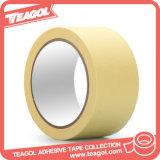 Resistente al calor adhesiva de papel marrón cinta de enmascarar, cinta
