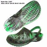 Новейшие мужчин обувь EVA Garden прочного Holey засорению