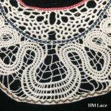 ворот шнурка хлопка способа вышивки Applique Neckline ворота 33*30cm цветет продукты Hm2044 ожерелья