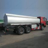 20000-25000 litro 6X4 Rhd Sinotruk HOWO 20cbm caminhão tanque de óleo combustível