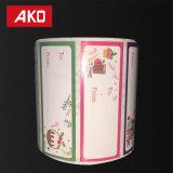 Ярлыки переноса OEM термально для высокообъемного печатание качества в черноте или в цвете