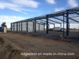Estructuras de acero de encargo para el edificio del taller