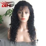 Parrucca anteriore di vendita calda del merletto dei capelli umani di 100% per le donne