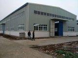 Estructura de acero prefabricada para el edificio del taller/del almacén