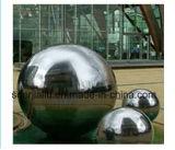900mm 750mm en acier inoxydable 304 Sphère poli miroir 2mm épaisseur