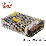 Smun as-100-24V 100W 24VDC 4.5A Minigrößen-Schaltungs-Stromversorgung