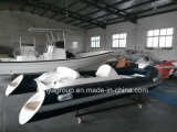 中国14フィートのPVCまたはHypalonの膨脹可能な肋骨のディンギーのボート