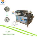 Desgranador del huevo de codornices del acero inoxidable que descasca la máquina