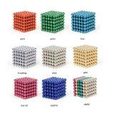 Do cubo mágico do enigma do ferro da esfera do esforço esferas magnéticas