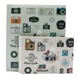 Deslize a tampa de papel de impressão de álbuns para fotografias encadernados