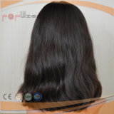 ヨーロッパのバージンの毛の自然な波状のかつら(PPG-l-0765)