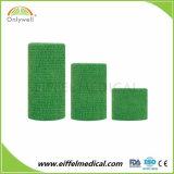 Nontissé Soft sans latex enveloppement cohésive Bandage élastique