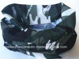 Fabrik-Erzeugnis kundenspezifischer Tarnung-graues Polyester-nahtloser Stutzen-Gefäß-Schal