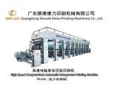 Machine d'impression complètement automatique automatisée de rotogravure (DLY-91000C)