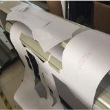 Marcação ce plotters de corte para o desenho do padrão de vestuário