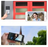 Sonnette sans fil imperméable à l'eau de vidéo de WiFi de garantie de Chambre