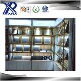 La feuille d'acier inoxydable termine des matériaux de décoration de mur extérieur
