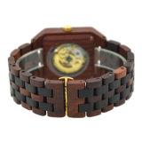 [هيغقوليتي] ساحر خشبيّة حرفة إشارة يحرّر ساعة مع عادة علامة تجاريّة