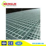 Rejilla de acero galvanizado de alta calidad para la plataforma