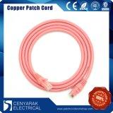 CAT6 cable de la corrección del LAN de la red del PVC LSZH UTP
