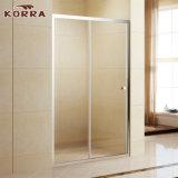 미닫이 문 (K-333A)를 가진 알루미늄 프레임 5mm 유리제 샤워 울안