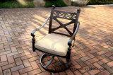 Meubles en aluminium de chaise pivotante de confort pour le jardin