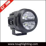 "Alta calidad de 3,2"" 20W de inundación redonda LED Spot Lámparas de conducción para Motocicletas"