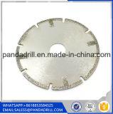 La hoja de sierra de diamante de corte de Granito duro