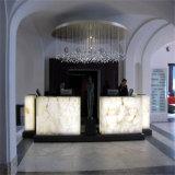 Bureau de réception en pierre artificiel de la TW petit pour des meubles de réception