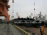 Zelle-Wand HDPE Rohr der Wicklungs-Dn2600 im philippinischen Projekt